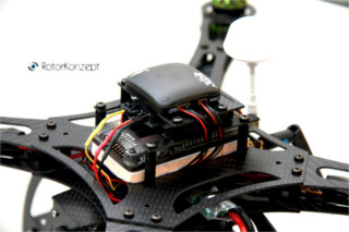 Bild Centerplate Quadrocopter